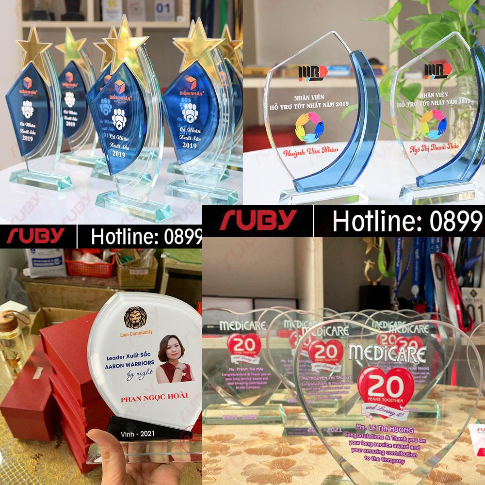 Cơ sở sản xuất kỷ niệm chương Ruby
