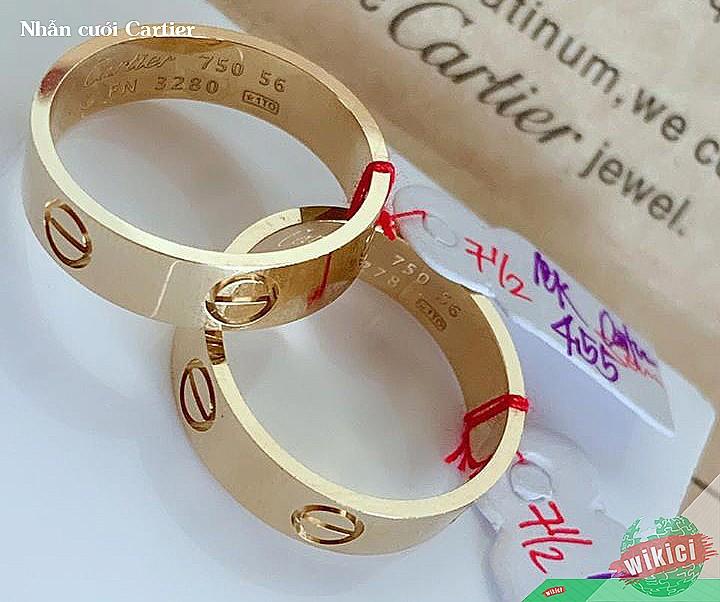 Nhẫn cưới Cartier