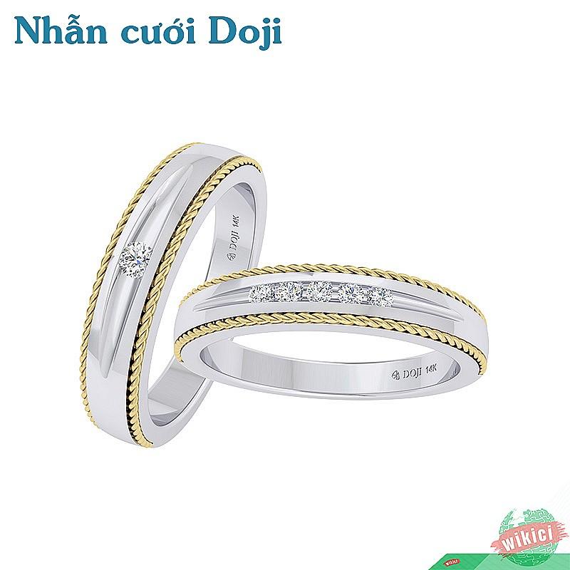 Nhẫn cưới Doji