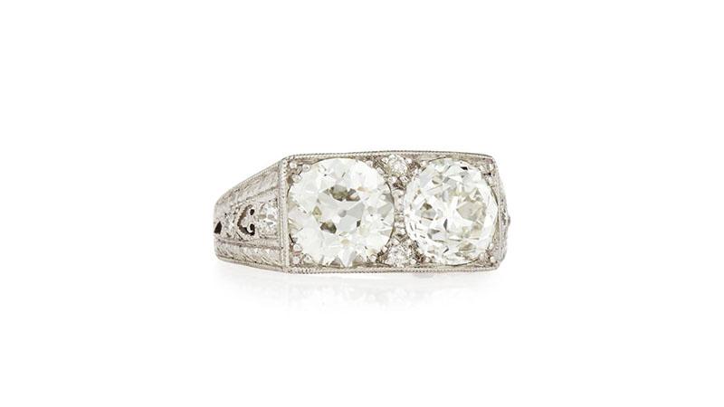 Nhẫn đính hônDouble Diamond