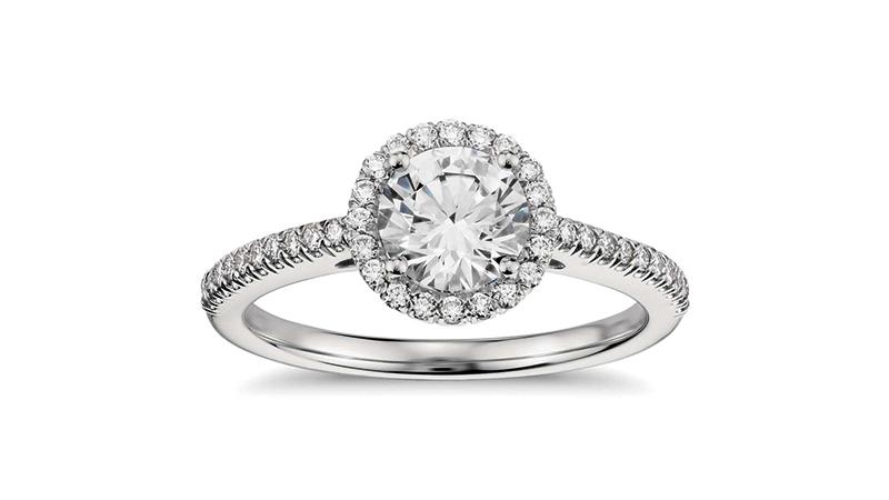 Nhẫn kim cương Halo