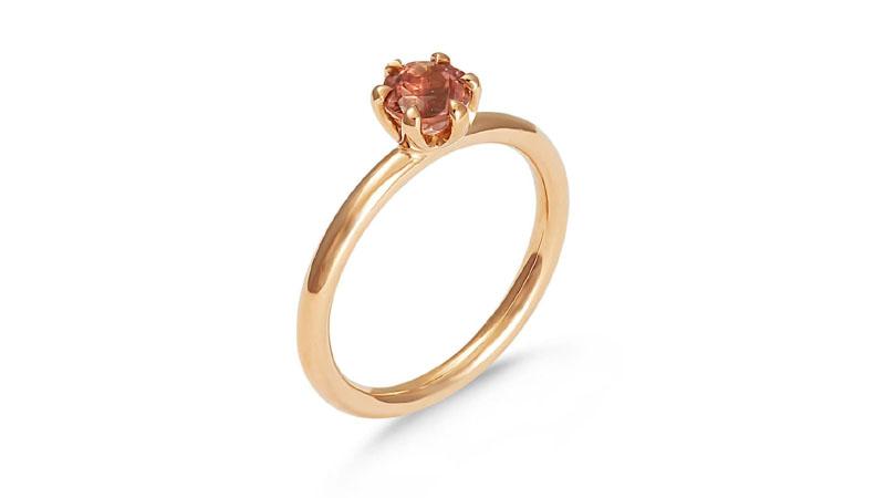 Nhẫn đính hôn Single Coloured Stone