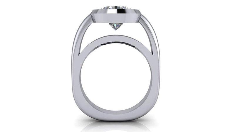 Nhẫn kim cương treo (Suspended)