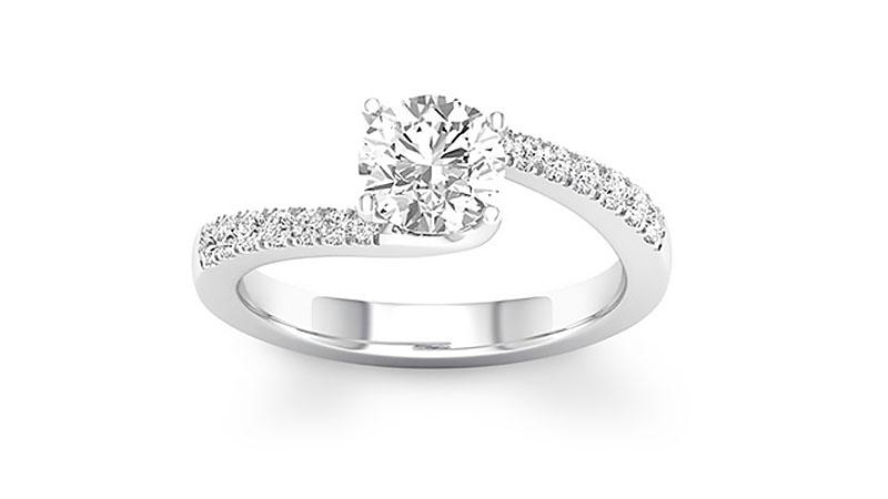 Nhẫn kim cươngSwirl