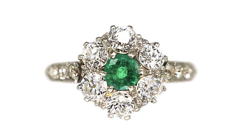 Nhẫn cổ điển Edwardian