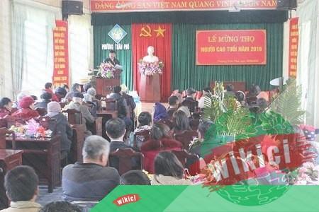 Bài phát biểu tại lễ mừng thọ người cao tuổi-2