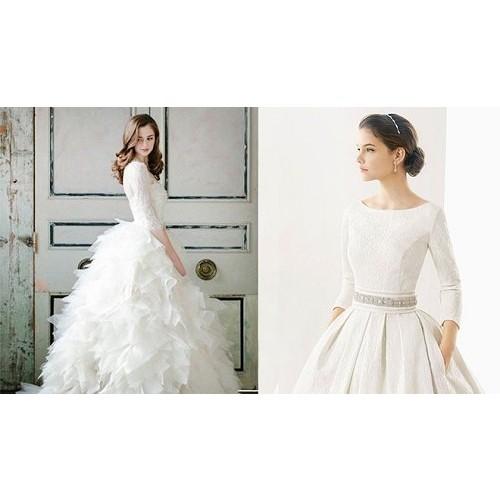 Bí quyết chọn váy cưới cô dâu phù hợp với dáng người-6