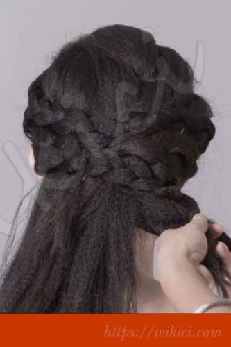 Bới tóc kiểu Hàn Quốc cho cô dâu tóc lỡ-5