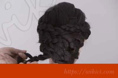Bới tóc kiểu Hàn Quốc cho cô dâu tóc lỡ-6