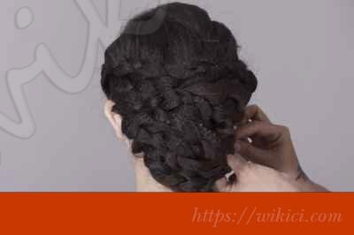 Bới tóc kiểu Hàn Quốc cho cô dâu tóc lỡ-7