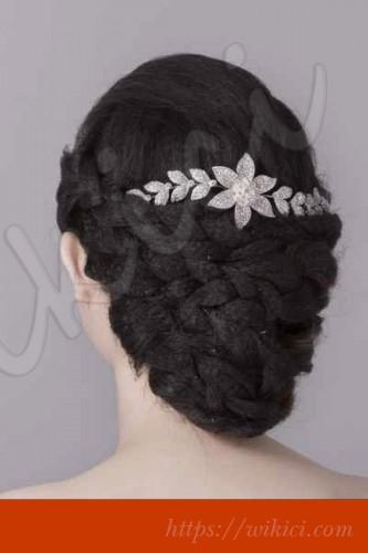 Bới tóc kiểu Hàn Quốc cho cô dâu tóc lỡ-9
