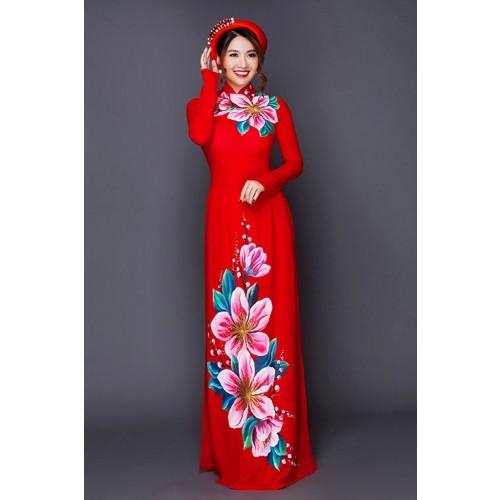 Những mẫu áo dài cưới truyền thống 2019 đẹp, sang trọng nhất-1