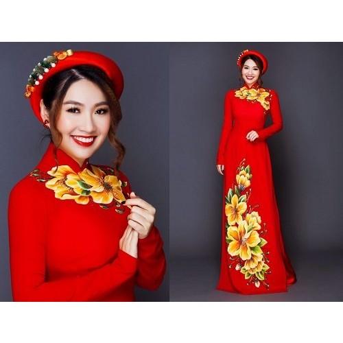 Những mẫu áo dài cưới truyền thống 2019 đẹp, sang trọng nhất-2