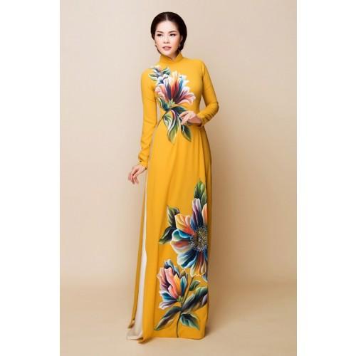 Những mẫu áo dài cưới truyền thống 2019 đẹp, sang trọng nhất-5