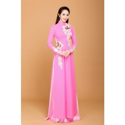 Những mẫu áo dài cưới truyền thống 2019 đẹp, sang trọng nhất-8