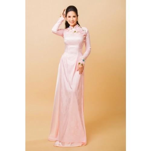 Những mẫu áo dài cưới truyền thống 2019 đẹp, sang trọng nhất-9