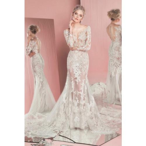 Những mẫu váy cưới công chúa giúp cô dâu đẹp tựa thiên thần-10