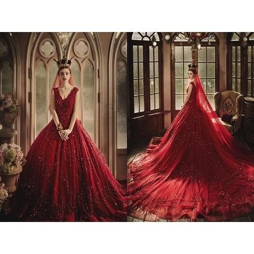 Những mẫu váy cưới công chúa giúp cô dâu đẹp tựa thiên thần-8