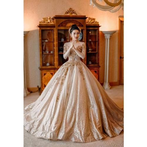 Những mẫu váy cưới công chúa giúp cô dâu đẹp tựa thiên thần-9