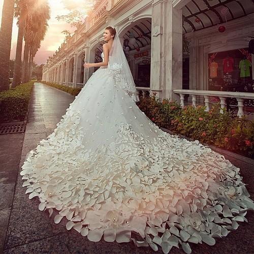 Những mẫu váy cưới đẹp nhất thế giới hiện nay-1