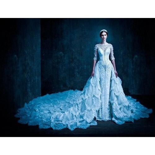 Những mẫu váy cưới đẹp nhất thế giới hiện nay-10