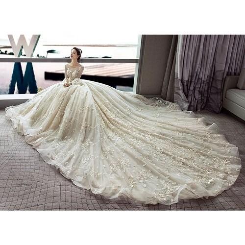Những mẫu váy cưới đẹp nhất thế giới hiện nay-3