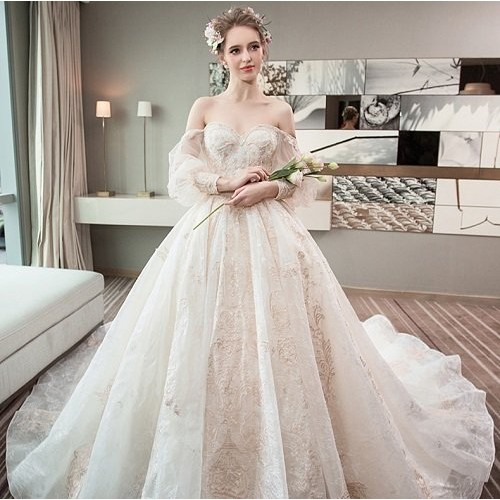 Những mẫu váy cưới đẹp nhất thế giới hiện nay-6