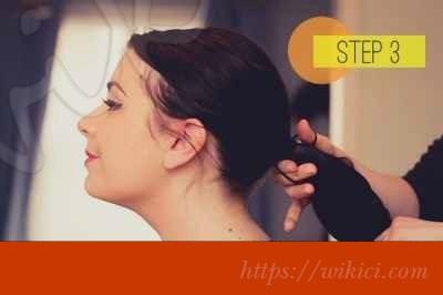 Cách bới tóc cô dâu dịu dàng với hoa-3
