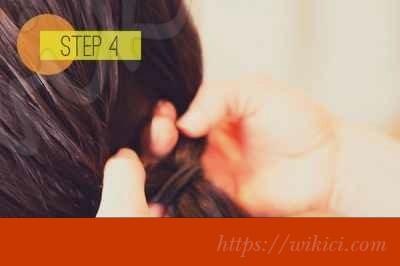 Cách bới tóc cô dâu dịu dàng với hoa-4