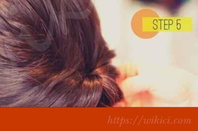 Cách bới tóc cô dâu dịu dàng với hoa-5