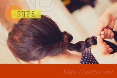 Cách bới tóc cô dâu dịu dàng với hoa-6