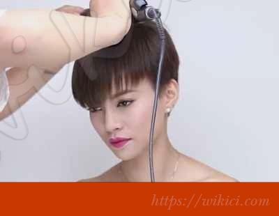 Cách bới tóc đơn giản cho cô dâu tóc ngắn-1