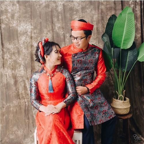 Cách chọn áo dài chụp ảnh cưới đẹp và hợp thời trang-1