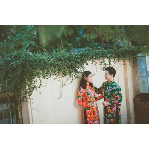 Cách chọn áo dài chụp ảnh cưới đẹp và hợp thời trang-2