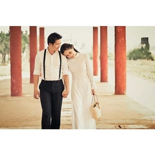 Cách chọn áo dài chụp ảnh cưới đẹp và hợp thời trang-3