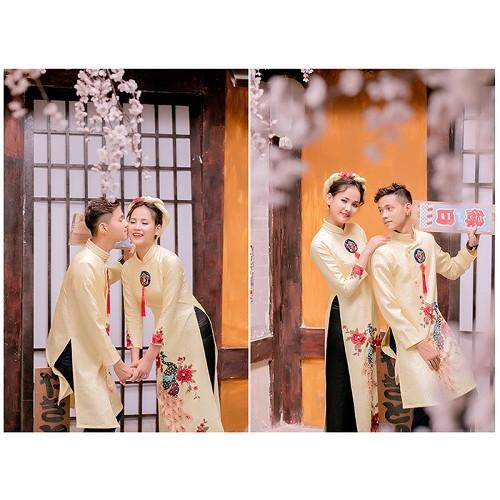 Cách chọn áo dài chụp ảnh cưới đẹp và hợp thời trang-4
