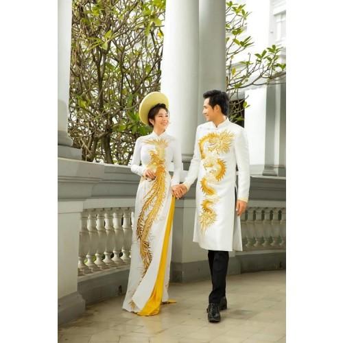 Cách chọn áo dài chụp ảnh cưới đẹp và hợp thời trang-5