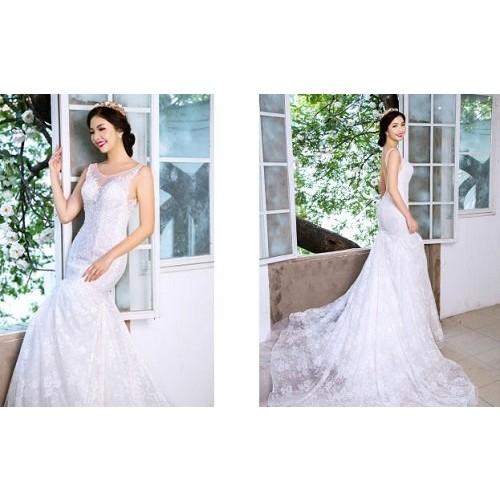 Cách chọn váy cưới cho cô dâu gầy xinh đẹp ngày cưới-4