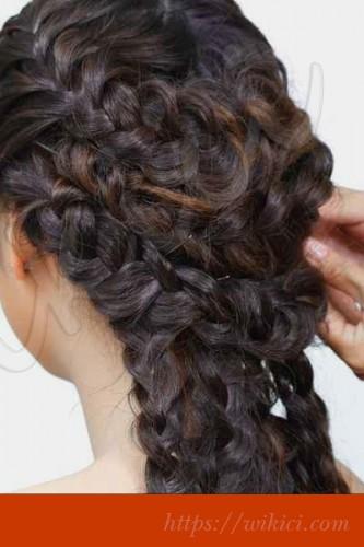 Cách làm tóc đơn giản cho cô dâu tại nhà-3