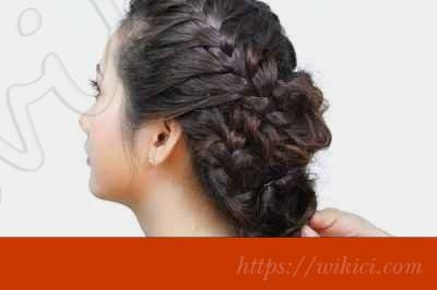 Cách làm tóc đơn giản cho cô dâu tại nhà-4