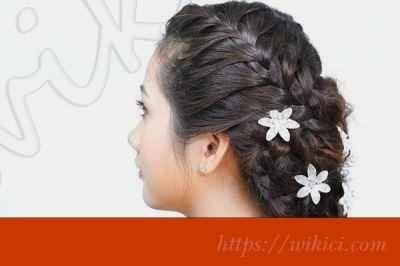 Cách làm tóc đơn giản cho cô dâu tại nhà-5