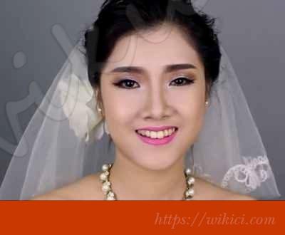 Cách trang điểm cho cô dâu mắt một mí-1
