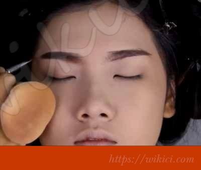 Cách trang điểm cho cô dâu mắt một mí-4