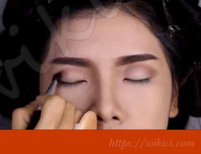 Cách trang điểm cho cô dâu mắt một mí-7