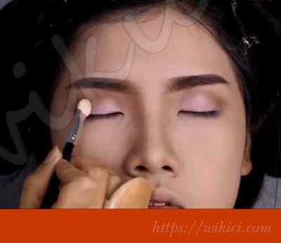 Cách trang điểm cho cô dâu mắt một mí-8