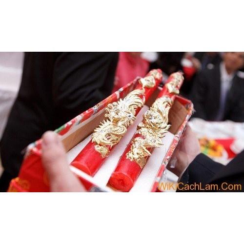 Cách trang trí bàn thờ gia tiên ngày cưới đúng cách-8