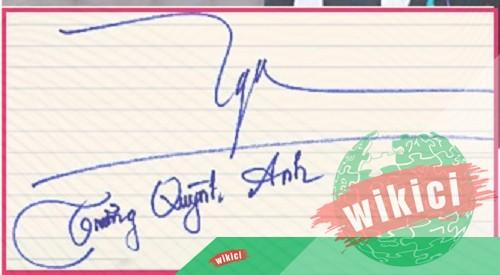 Chữ ký tên Anh – Những mẫu chữ ký tên Anh đẹp nhất-13