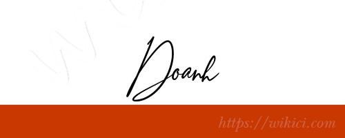 Chữ ký tên Doanh – Những mẫu chữ ký tên Doanh đẹp nhất-10
