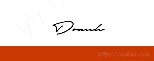 Chữ ký tên Doanh – Những mẫu chữ ký tên Doanh đẹp nhất-13
