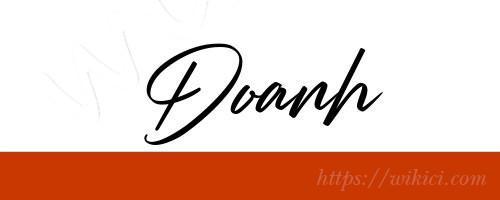 Chữ ký tên Doanh – Những mẫu chữ ký tên Doanh đẹp nhất-6